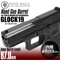 Nine Ball TM G19 innerpipa...